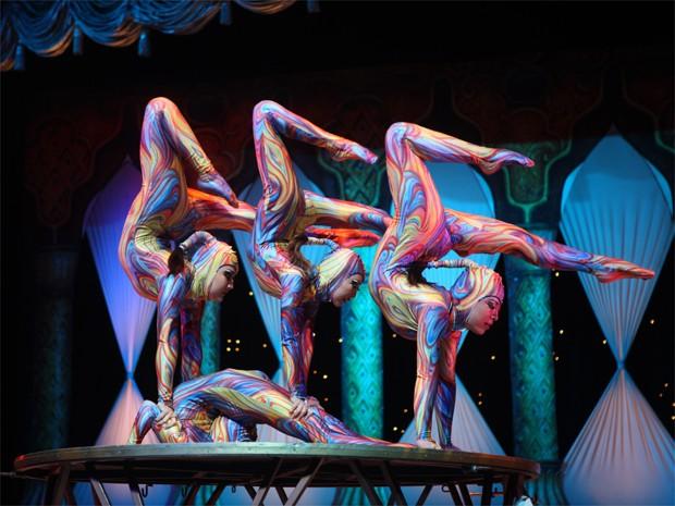 Circo Tihany Spectacular fica na cidade até o começo de 2014. (Foto: Divulgação)