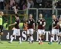 Com apagão e golaços, Torino vira sobre o Palermo e dispara no Italiano