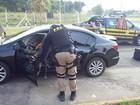 Dois homens são presos com carro clonado em Poços de Caldas, MG