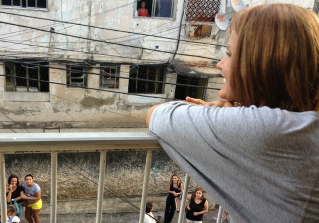 Casa de Xuxa antes da fama (Foto: TV Globo)