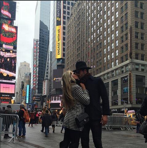 Adriana em NY (Foto: Reprodução/Instagram)