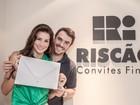 Ex-BBBs Mariana Felício e Daniel Saullo vão casar e mostram convite