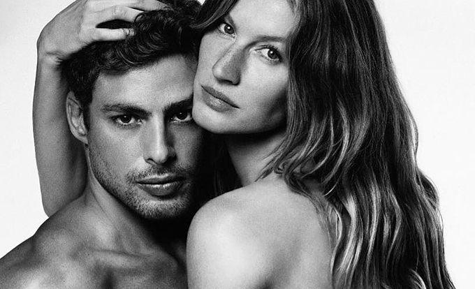 Cauã Reymond e Gisele Bündchen (Foto: Reprodução/Instagram)