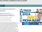 Site oficial de Tebaldi, candidato à Prefeitura de Joinville, é invadido