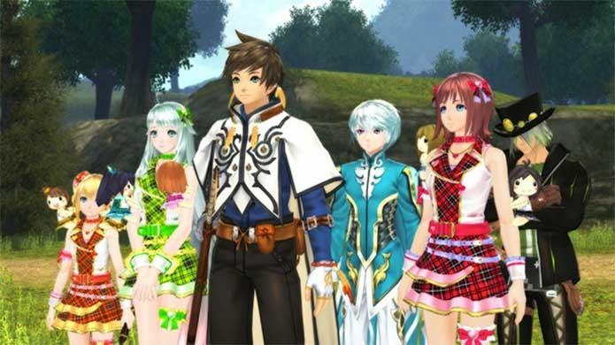 Pacote de Idolmaster em Tales of Zestiria (Foto: Divulgação/Bandai Namco)