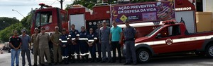 Corpo de Bombeiros promove ação preventiva pré-carnaval