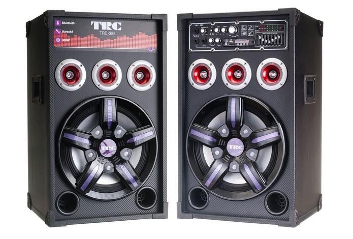 Caixa de som amplificada TRC-388 (Foto: Divulgação/TRC)