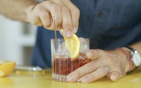 Drinque Negroni