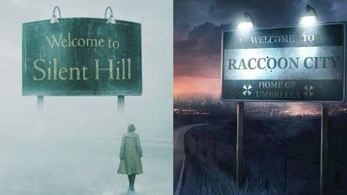 Silent Hill é macabra por si só, enquanto Raccoon City foi apenas o começo (Foto: Reprodução/Silent Hill Wiki e Wikipedia)