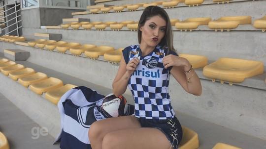 """Musa do São José é """"colecionadora"""" de faixas de concursos de beleza"""