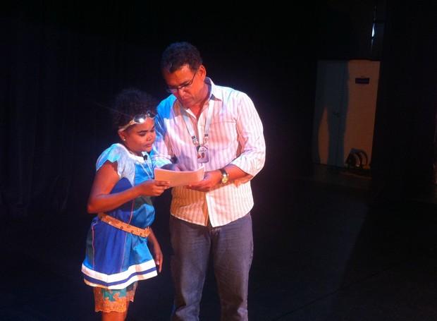 Companhias de teatro gravam vídeo para os 24 anos da ¨TV Grande Rio (Foto: Institucional/TV Grande Rio)