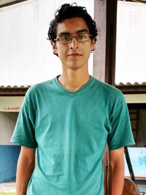 Jovem não lembra de seu nome e nem como chegou em Bertioga, SP (Foto: Divulgação)