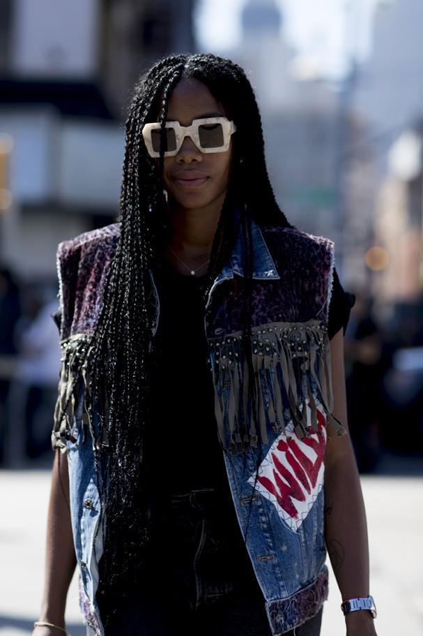 O street style das semanas de moda (Foto: IMaxTree)