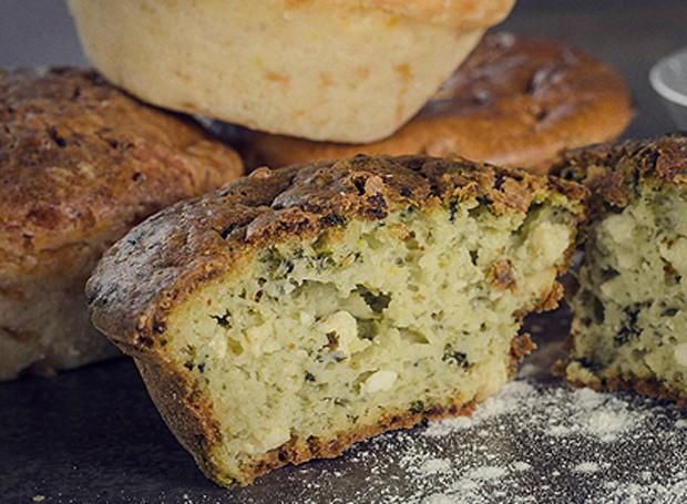 Muffin de ricota e espinafre (Foto: Foto: Arquivo pessoal)