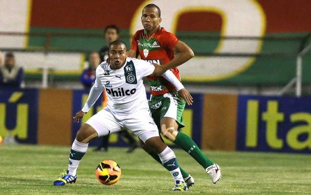 Walter e Valdomiro Portuguesa e Goiás (Foto: Marcos Bezerra / Agência estado)