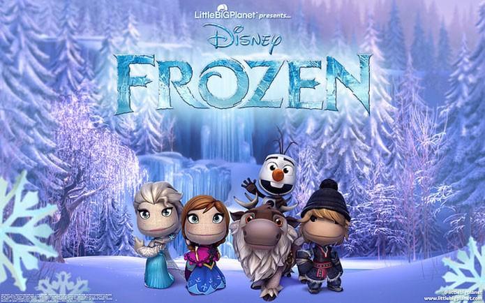 Frozen invade LittleBigPlanet 3 (Foto: Divulgação)