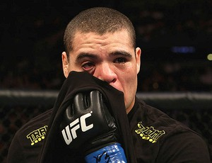 Wagner Caldeirão com o olho machucado UFC (Foto: Divulgação / UFC)