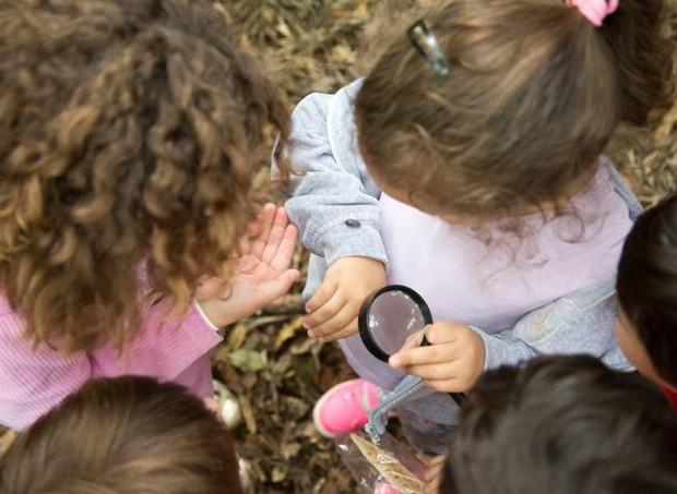 Durante o evento, as crianças poderão explorar a natureza do Parque Villa-Lobos (Foto: Divulgação / SlowKids)