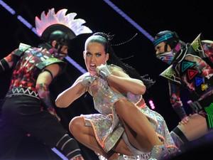 Katy Perry toca no Palco Mundo no último dia do Rock in Rio (Foto: Alexandre Durão/G1)