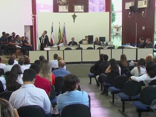 Julgamento foi realizada na quinta-feira (14), em Alagoinhas (Foto: Reprodução/TV Subaé)