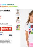 Camiseta infantil da grife de Luciano Huck causa polêmica na web