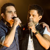 Zezé Di Camargo e Luciano (Foto: Érico Andrade/G1)