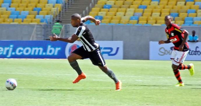 Vinicius Tanque, atacante do sub-20 do Botafogo (Foto: Divulgação )