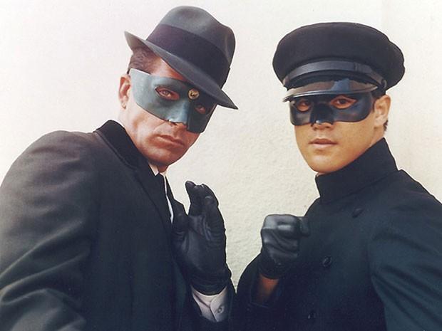 Van Williams e Bruce Lee em 'Besouro verde' (Foto: Divulgação)
