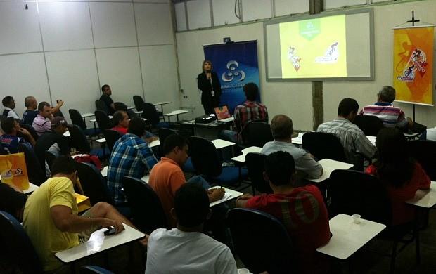 Congresso Técnico apresentou questões referentes ao dia da prova (Foto: Katiúscia Monteiro/ Rede Amazônica)