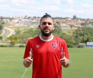 Chico, atacante do Desportivo Brasil (Foto: Raphael Zilli/ Desportivo Brasil)
