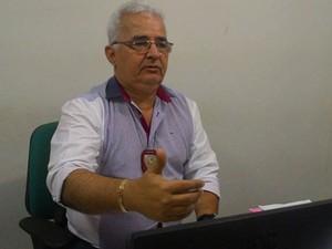 Delegado Normando Feitosa (Foto: Anderson Barbosa/G1)