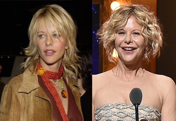 Meg Ryan pode ter exagerado na intervenção estética pro red carpet do Tony Awards 2016 (Foto: Getty Images)