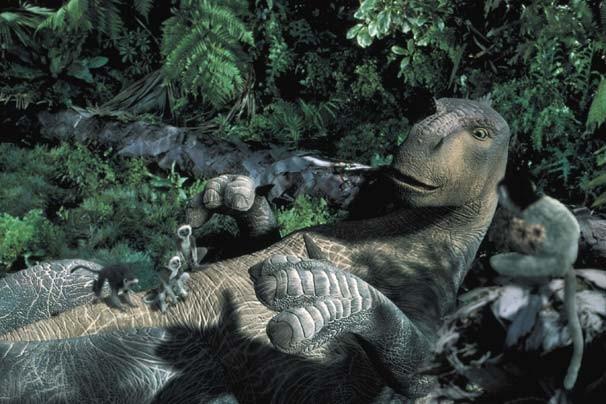Dinossauros (Foto: Reprodução/Disney Media Distribution)