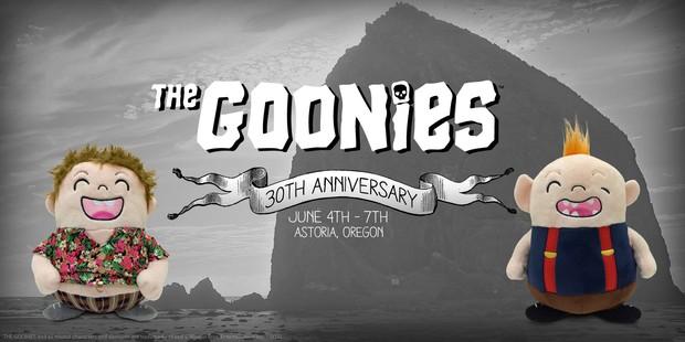 """Header de comunidade sobre aniversário di filme """"The Goonies' no Facebook (Foto: Reprodução/Facebook)"""