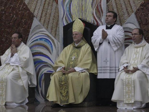 Dom Irineu Roque Scherer era bispo da igreja católica em Joinville (Foto: Diocese de Joinville/Divulgação)