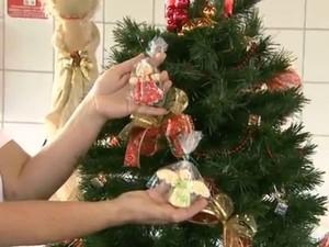 Feira de artesanato e alimento de São Carlos comemora 5ª edição com produtos natalinos (Foto: Paulo Chiari / EPTV)