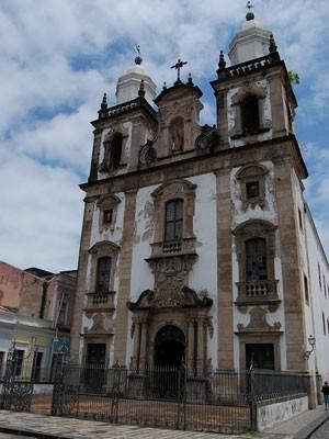 Igreja de São Pedro dos Clérigos será um dos palcos do projeto (Foto: Vanessa Bahé / G1)