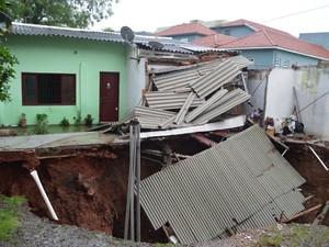 RS, chuv, Santa Maria, enchente (Foto: Prefeitura de Santa Maria/Divulgação)
