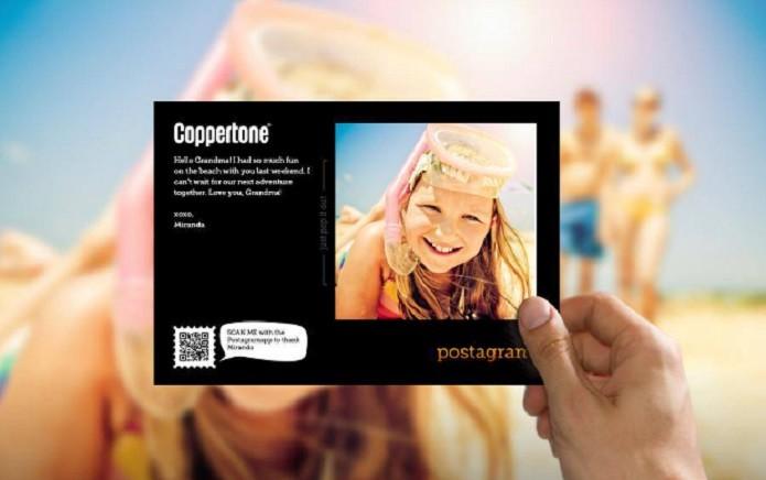 Mande cartões postais personalizados com Postagram (Foto: Divulgação/Postagram)