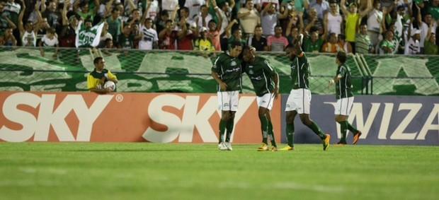 Icasa comemora gol Palmeiras Série B Romeirão (Foto: Normando Sóracles/Agência Diário de Counicação)