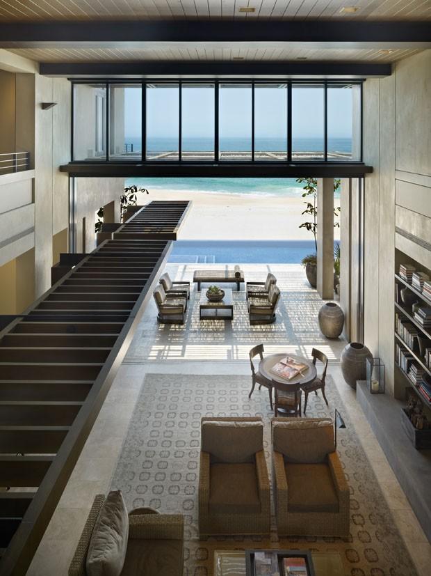 Casa reverencia a areia e o mar casa vogue interiores for Casas e interiores