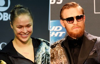 "Conor McGregor decreta: ""Ronda Rousey é a rainha do MMA, e eu o rei"""