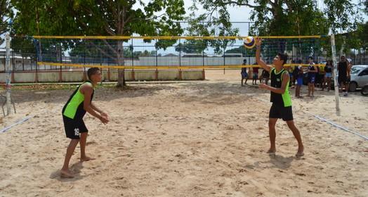 na areia (Rafael Moreira/GE-AP)