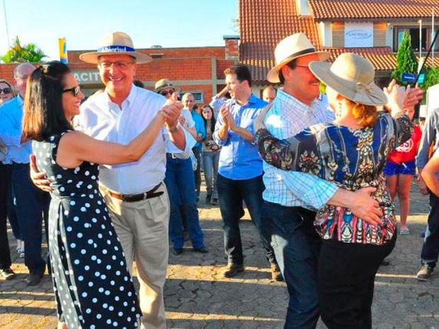 Sartori dança Expointer RS (Foto:  Luiz Ávila/Divulgação)