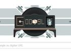 Doodle do Google celebra 90 anos da 1ª demonstração pública da televisão