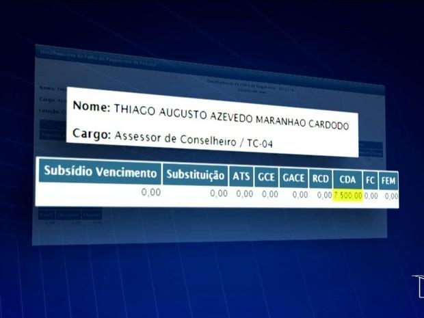 Ação popular pede bloqueio de bens do filho de Waldir Maranhão (Foto: Reprodução/TV Mirante)