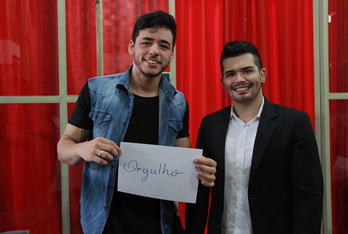 João Victor & Rodrigo (Foto: Katiúscia Monteiro/ Rede Amazônica)