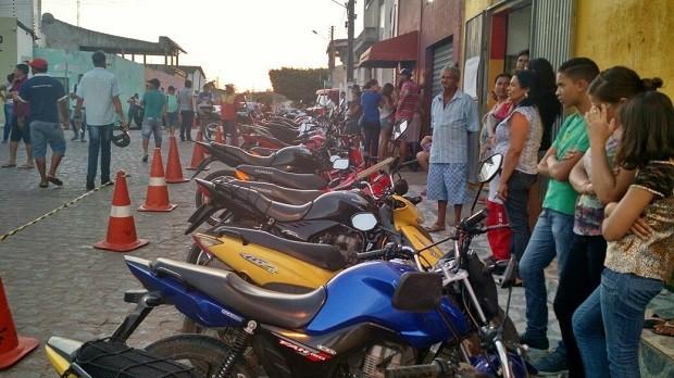 Veículos apreendidos foram levados ao pátio do 3º BPM (Foto: Divulgação/Lei Seca)