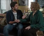 'Rock story': Ana Beatriz Nogueira) e Gabriel Louchard em cena   TV Globo