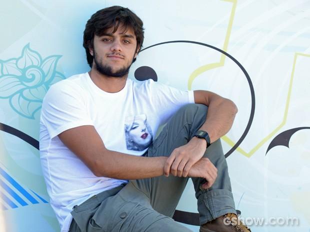 Felipe Simas vai estar na próxima temporada de Malhação (Foto: TV Globo / Malhação)